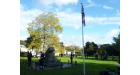 Remembrance Sunday Cowes on the isle of wight