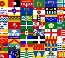 County flags