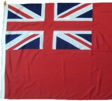 Printed Ensign flags