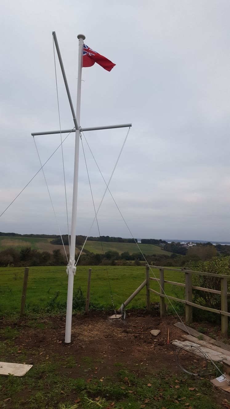 Flag Pole Installation And Maintenance South Coast Flagpoles