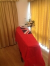 Red ensign Coffin Drape