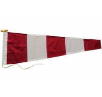 Answer Signal Pennant Flag Printed