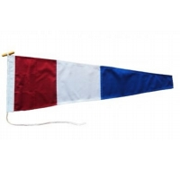Three Signal Pennant Flag Printed