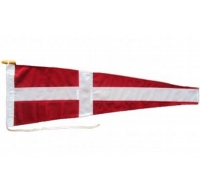 Four Signal Pennant Flag Printed