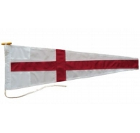 Eight Signal Pennant Flag Printed