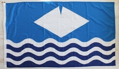 Isle of Wight Sewn Flag