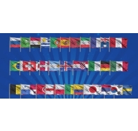 World Cup Individual Flags