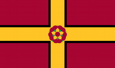 Northamptonshire Flag British County Flag