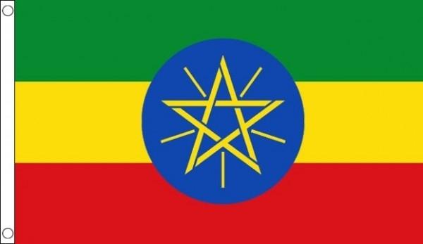 Ethiopia Printed Flag Printed World Flags South Coast Flagpoles