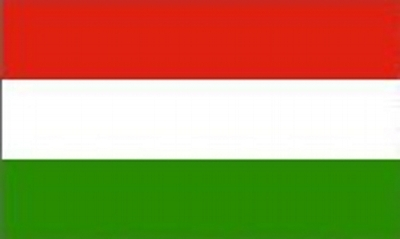 Hungary Printed Flag