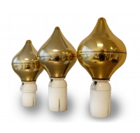 Gold Onion Finial