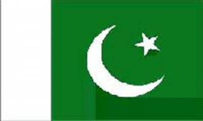 Pakistan Sewn Flag
