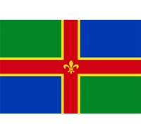 Lincolnshire County Flag British County Flag
