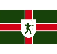Nottinghamshire County Flag British County Flag
