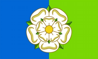 Yorkshire East Riding Flag British County Flag