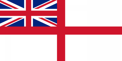 Printed White Ensign