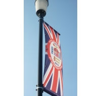 Lamp Post Banner Arm Display Systems
