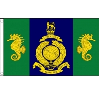 Logistic Regiment Royal Marines Military Flag