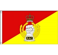 Royal Armoured Corps Military Flag