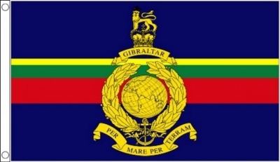 Royal Marines Military Flag