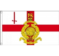 Royal Marines Reserve London Military Flag