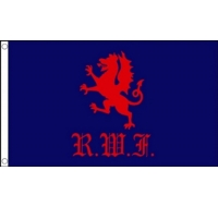 Royal Welch Fusiliers Military Flag