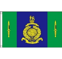 Signals Squadron Royal Marines Military Flag