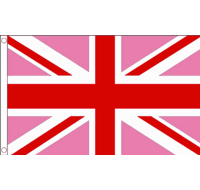 Union Jack Pink and Red